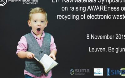 Registration now open for EIT RawMaterials Symposium AWARE (November 8, 2019)