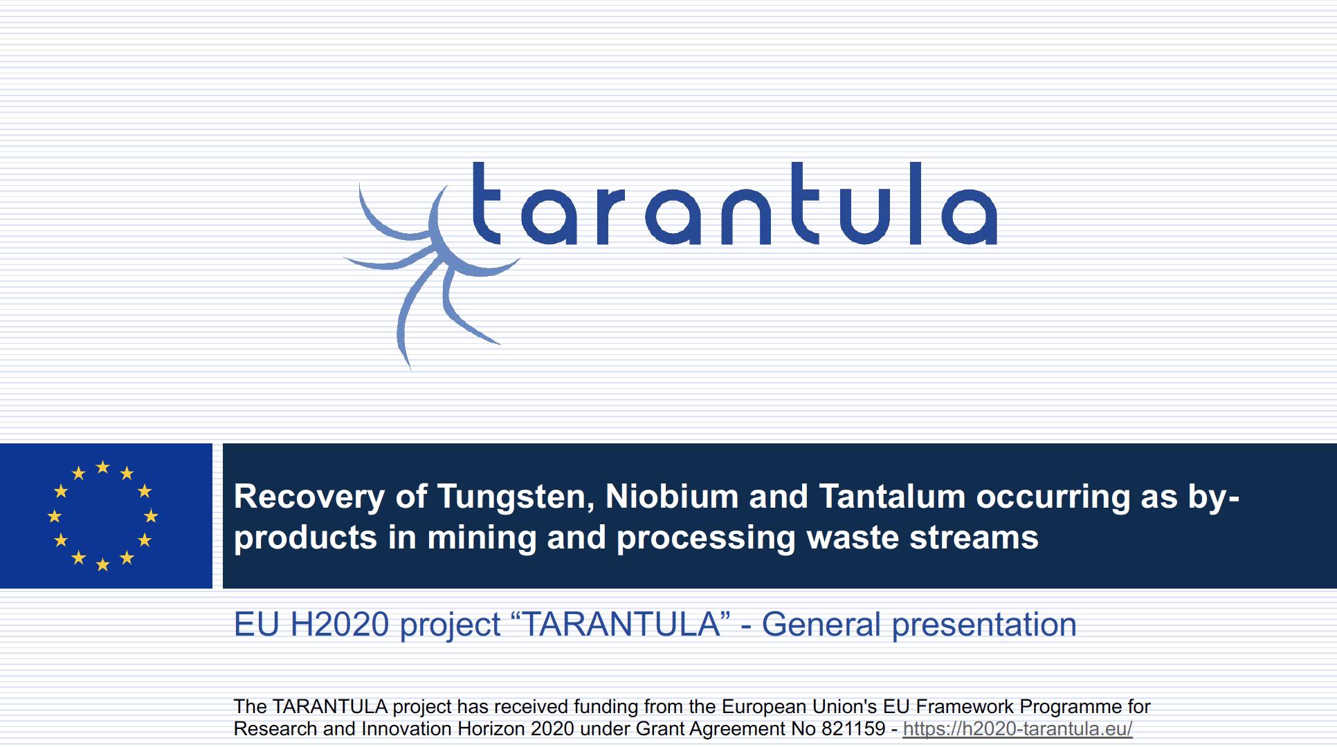 TARANTULA General Presentation