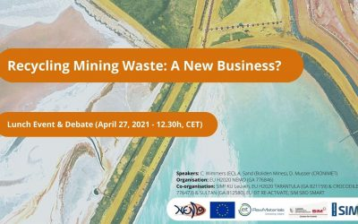 """""""Recycling mining waste, a new business?"""" (April 27, 2021)"""